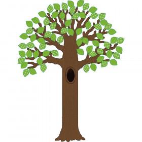 Big Tree with Polka Dot Leaves Bulletin Board