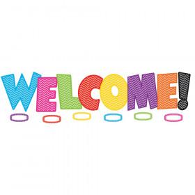 Chevron Welcome Bulletin Board