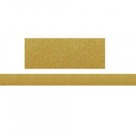Confetti Gold Straight Border Trim