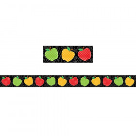 Dotty Apples Straight Border Trim