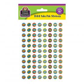 Superhero Mini Stickers Valu-Pak, Pack of 1144
