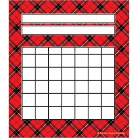 Red Plaid Incentive Charts