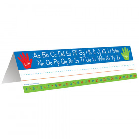 Left Right Alphabet Tented Name Plate