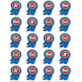 Blue Ribbon Stickers 120 Stks