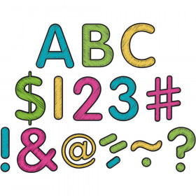 """Chalkboard Brights Classic 2"""" Letters Uppercase Pack"""