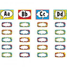 Superhero Alphabet Word Wall Bulletin Board