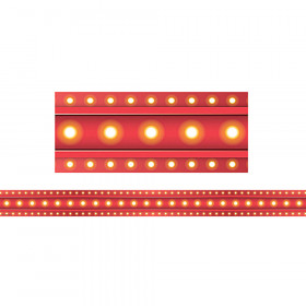 Red Marquee Straight Border Trim