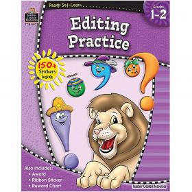 Ready Set Learn Editing Practice Gr 1-2