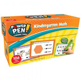 Power Pen Learning Cards: Math Grade K