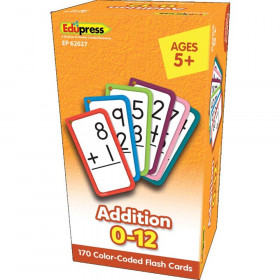 Addition Flash Cards - All Facts 0-12