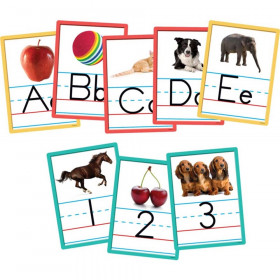 Alphabet and Numbers Accents, Pack of 36