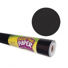Better Than Paper Bulletin Board Roll, 4' x 12', Black, 4 Rolls