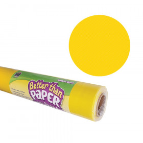 Better Than Paper Bulletin Board Roll, 4' x 12', Yellow Gold, 4 Rolls