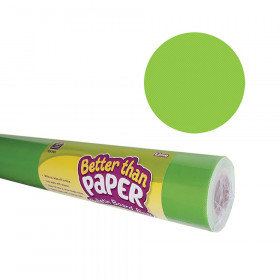 Better Than Paper Bulletin Board Roll, 4' x 12', Lime, 4 Rolls