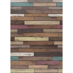 Better Than Paper Bulletin Board Roll, 4' x 12', Reclaimed Wood, 4 Rolls