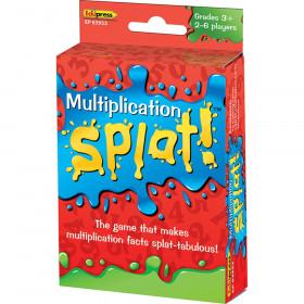 Multiplication Splat Card Game