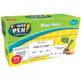 Power Pen? Learning Cards: Place Value
