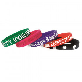 Character Traits Wristband Pack, 10/pkg