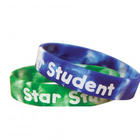Fancy Star Student Wristband Pack, 10/pkg