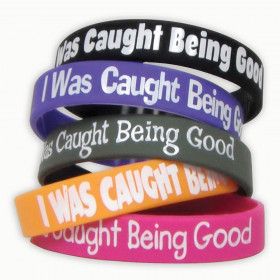 I Was Caught Being Good Wristband Pack, 10/pkg