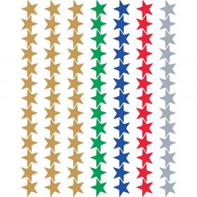 Assorted Foil Stars Valu-Pak Stickers