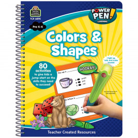 Power Pen? Learning Book: Colors & Shapes
