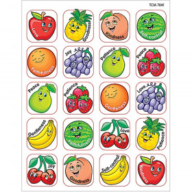 Fruit of the Spirit Stickers, Pack of 120