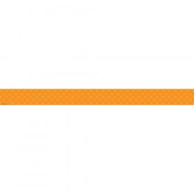 Orange Sassy Solids Double Sided Border