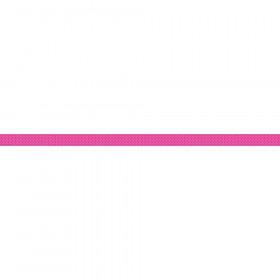 Pink Blue Stripe Ribbon Runner