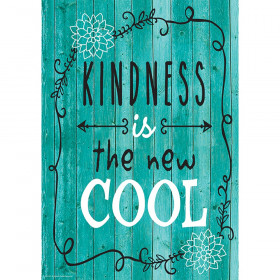 Kindness Is the New Cool Positive Poster