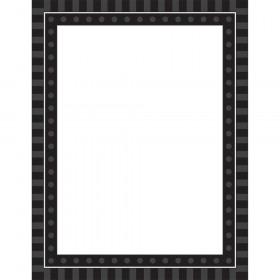 Black Sassy Solids Chart