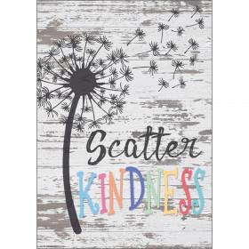 "Scatter Kindness Positive Poster, 13-3/8"" x 19"""
