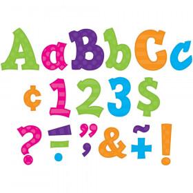"Multi Bright Sassy Solids 5"" Letters"