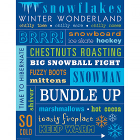 Winter Subway Art Chart