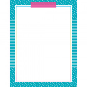Colorful Vibes Blank Charts
