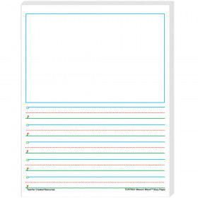 Smart Start 1-2 Story Paper: 100 Sheets