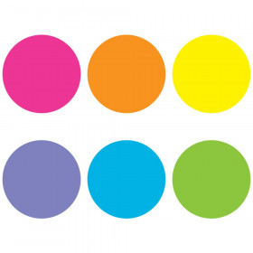 Spot On Bright Circles Carpet Markers, 7""