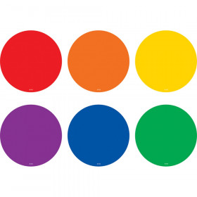 Spot On Colorful Circles Carpet Markers