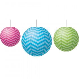 Chevron Paper Lanterns