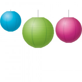 Brights Paper Lanterns, Pack of 3