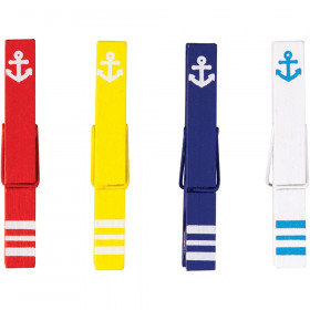Anchors Magnetic Clothespins