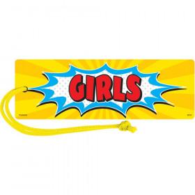 Superhero Magnetic Girls Pass