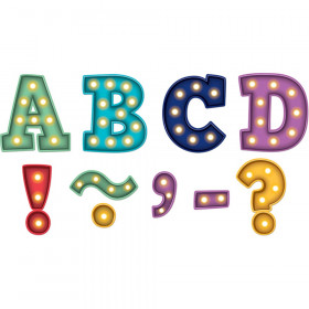 """Marquee Bold Block 3"""" Magnetic Letters, 55 Pieces"""