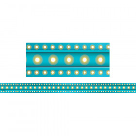Light Blue Marquee Strips Clingy Thingies