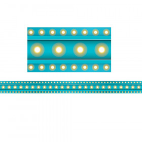 Clingy Thingies Border, Light Blue Marquee