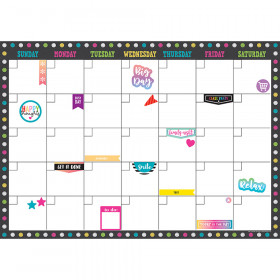Clingy Thingies Calendar Set Chalkboard Brights