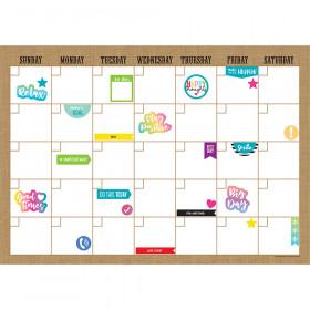 Clingy Thingies Calendar Set Burlap