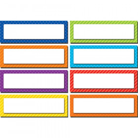 Playful Patterns Labels Accents Magnetic