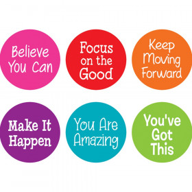 """Spot On Carpet Markers Positive Sayings, 7"""""""