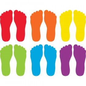 "Spot On Floor Markers Footprints, 7"""